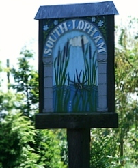 Photo of South Lopham Village Sign