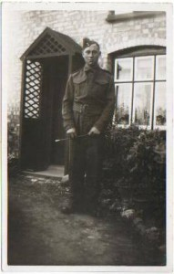 Photograph of Ralph Ellis Bowell in uniform.